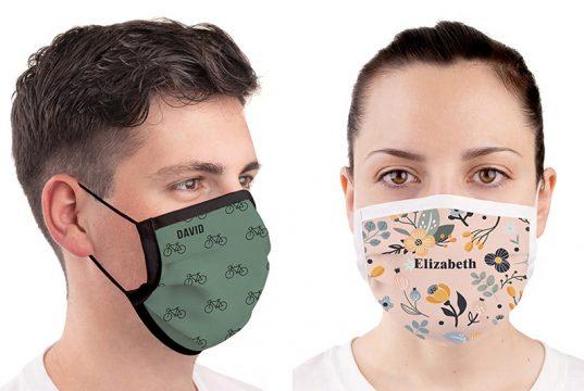 mascarillas hombres y mujer