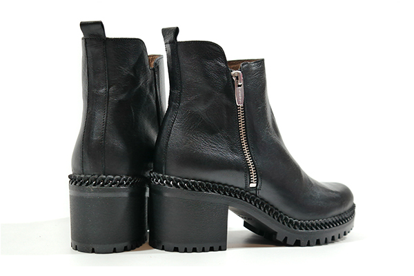 botas moteras mujer