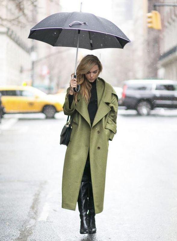 botines altos para la lluvia