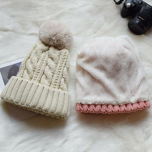 gorro lana blanco