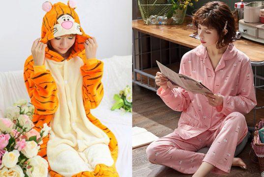 comprar pijamas de mujer invierno