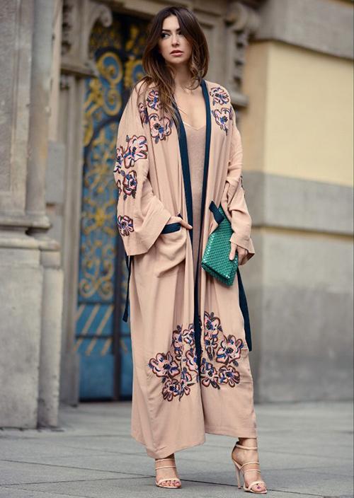 looks casual primavera kimono