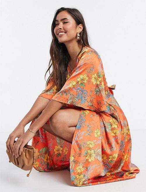 vestidos estilo kimono