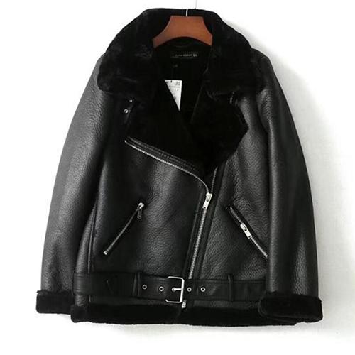 abrigo pelo sintetico mujer