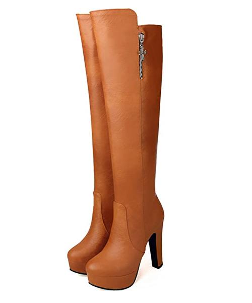 botas altas mujer amazon