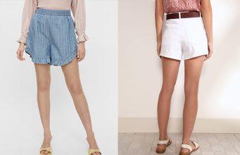 pantalones cortos mujer baratos