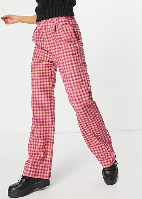 pantalones de cuadros vichy