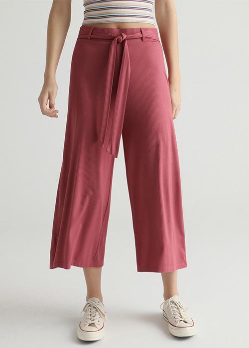 pantalones fludos mujer