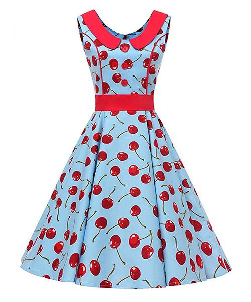 vestidos retro vintage