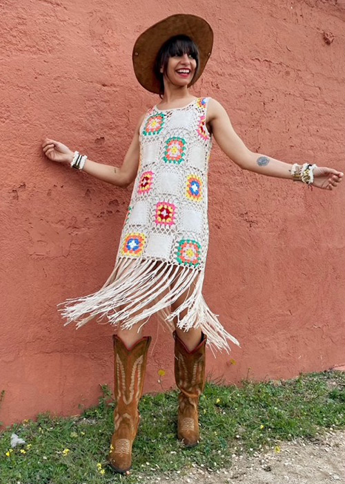 vestido crochet online