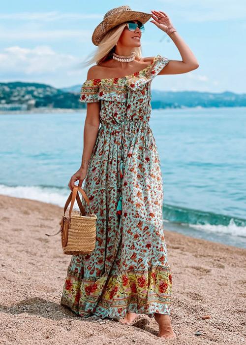 vestidos playa verano