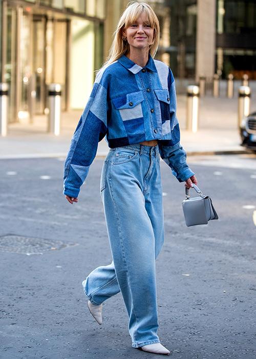 combinar unos pantalones baggy