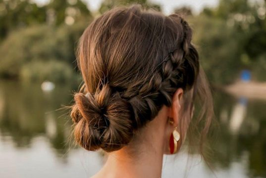 peinados de fiesta para mujer