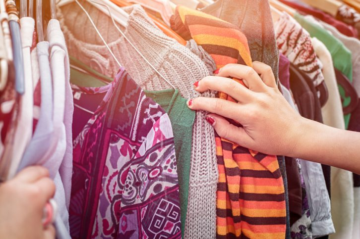 consejos para comprar ropa usada