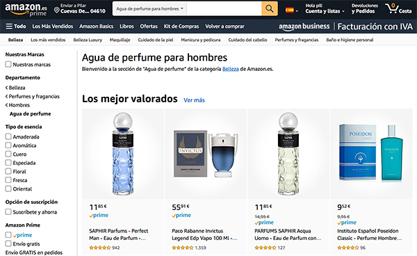 comprar perfumes tester al por mayor