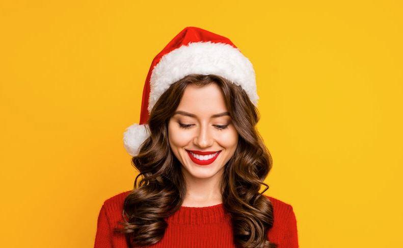 gorros de navidad de mujer